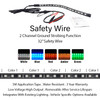FIREWIRE LED 32 INCH SAFETY WIRE COLORS
