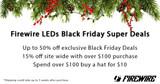 Firewire LEDs Black Friday Super Sale