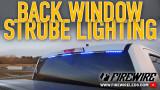Firewire LEDs Back Window Installation Youtube Video
