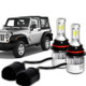 07-16 Jeep Wrangler High Beam Bulb Kit
