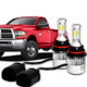 09-18 Dodge Ram w/ 4 Headlamp System Low Beam Bulb Kit