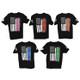 Men's American Flag T-Shirt (FW-AF-TShirt) Group Colors