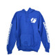 Firewire LEDs American Flag Hoodie Blue Front