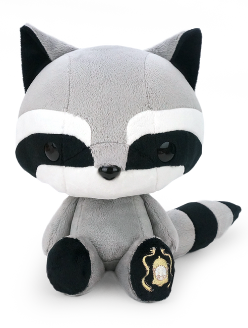 Cute Bellzi Raccoon Stuffed Animal Plush Toy