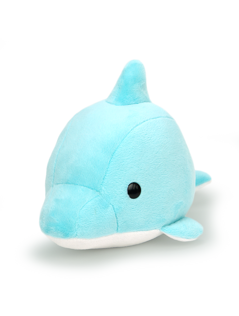 "Bellzi® Cute Dolphin Stuffed Animal Plush - Dolphi - 12"" Length"