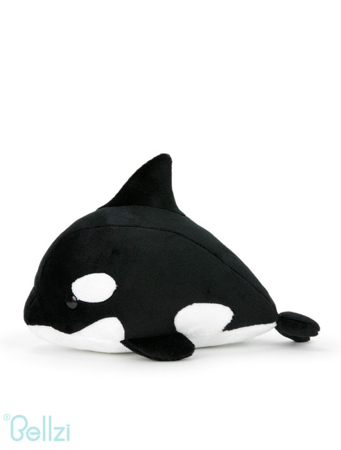 "Bellzi® Cute Orca Stuffed Animal Plush - Orki - 12"" Length"