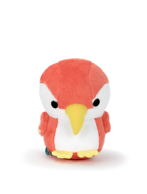 "Bellzi® Cute Red Parrot Stuffed Animal Plush - Parri- 4"" Height"