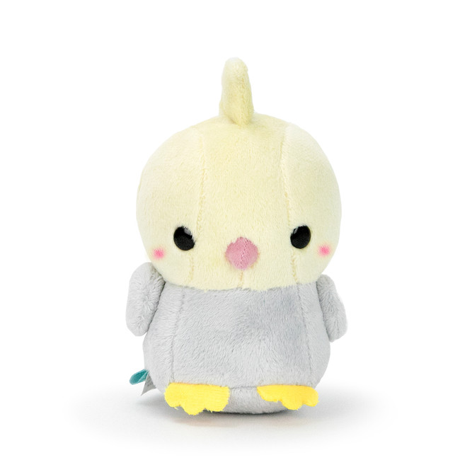 "Bellzi® Cute Gray Cockatiel Stuffed Animal Plush - Tilli - 4"" Height"