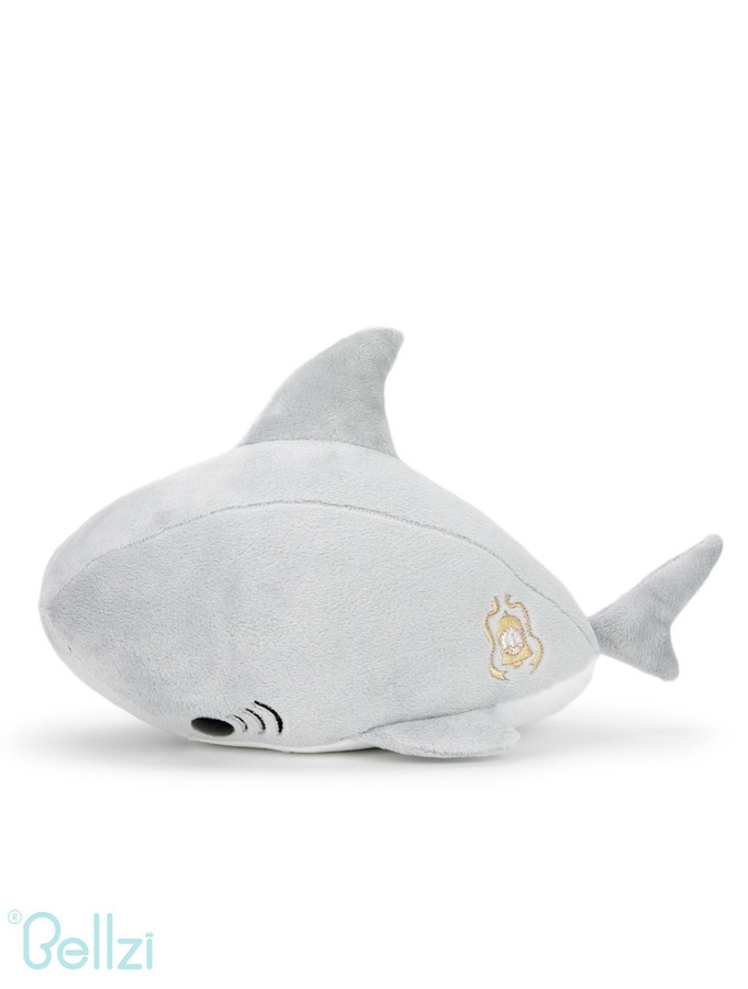 "Bellzi® Cute Shark Stuffed Animal Plush - Sharki - 12"" Length"