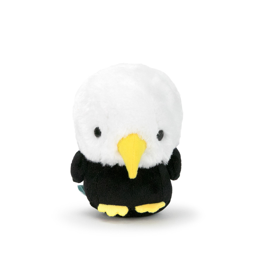 "Bellzi® Cute Bald Eagle Stuffed Animal Plush - Baldi - 4"" Height"
