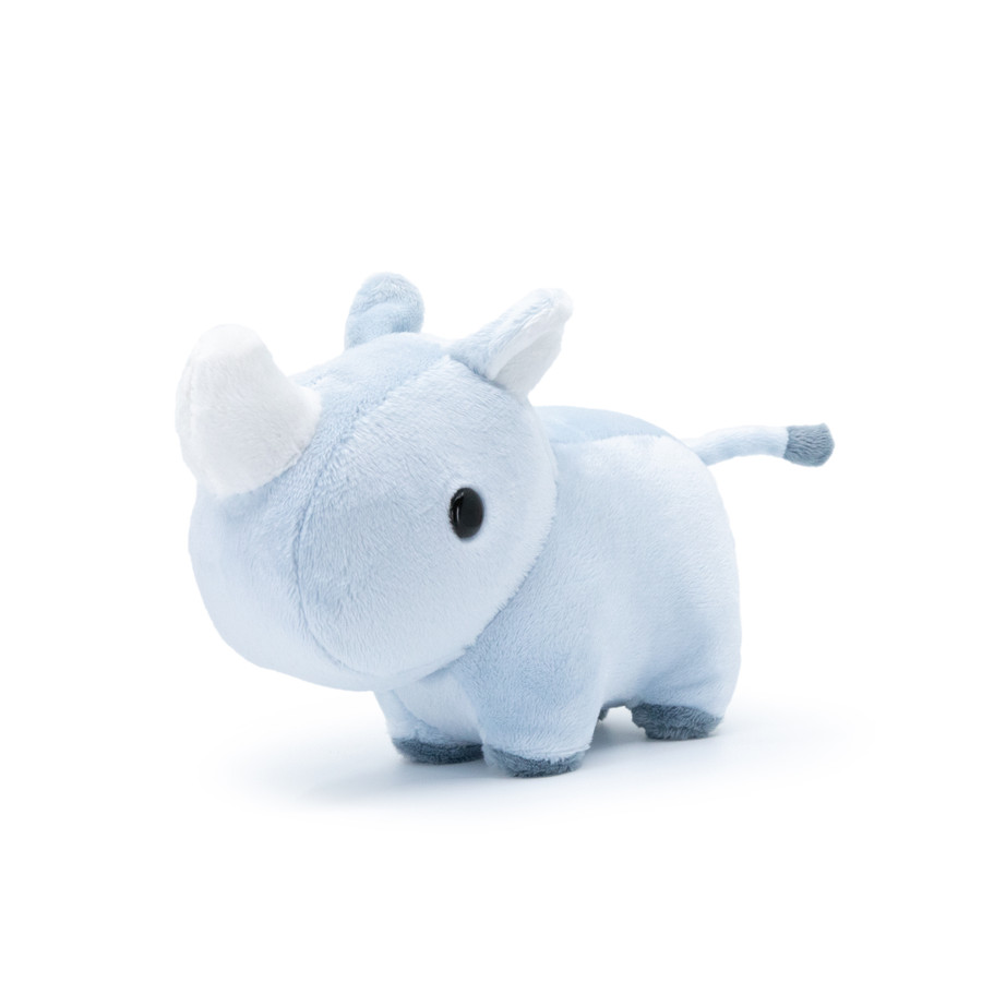 Mini Bellzi® Cute Rhino Stuffed Animal Plush - Rhini