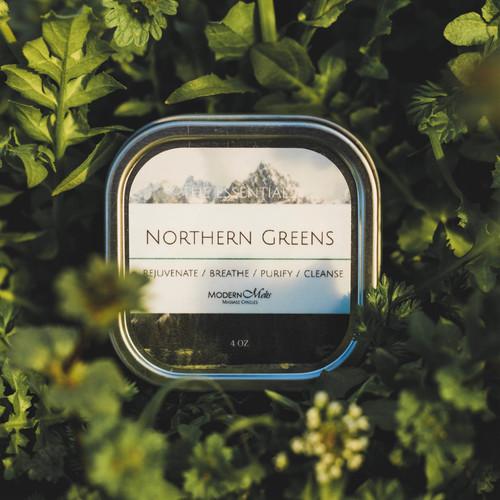 Northern Greens Essentials Massage Candle (4oz)