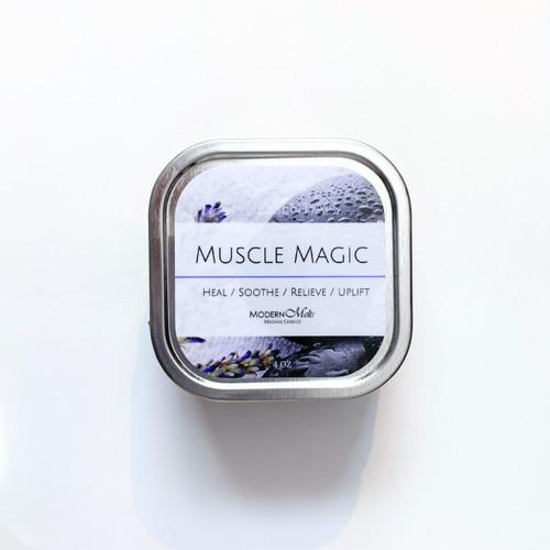 Muscle Magic Essentials Massage Candle (4oz)