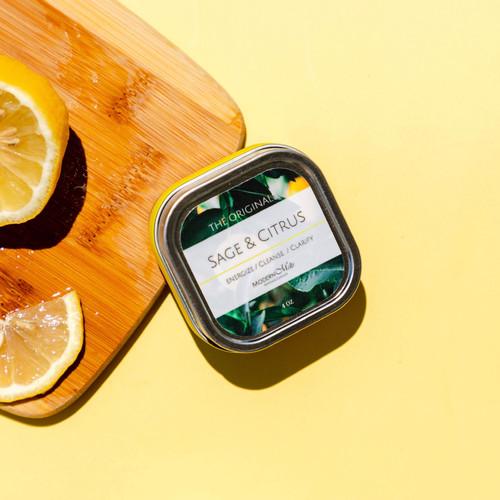 Sage & Citrus Massage Candle (4oz)