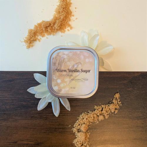 Warm Vanilla Sugar Massage Candle (4oz)