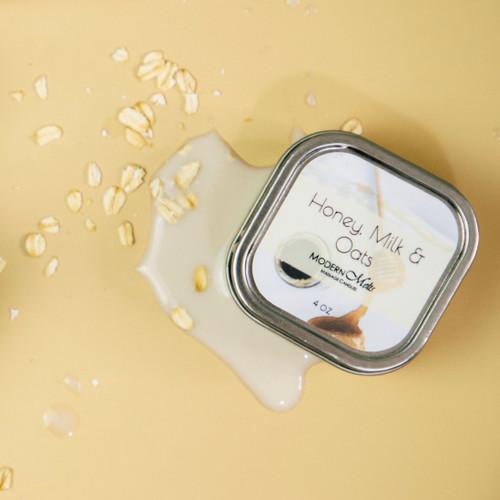 Honey, Milk & Oats Massage Candle (4oz)