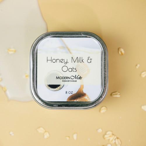 Honey, Milk & Oats Massage Candle (8oz)