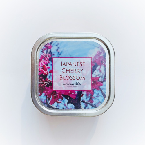 Japanese Cherry Blossom Massage Candle (8oz)