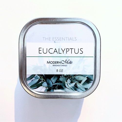 Eucalyptus Essentials Massage Candle (8oz)
