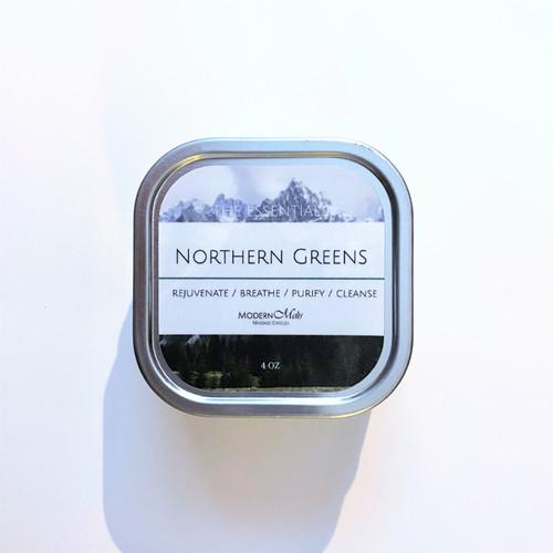 Northern Greens Essentials Massage Candle (8oz)