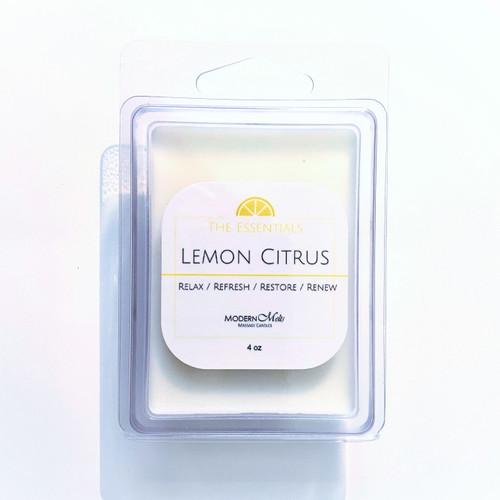 Lemon Citrus Essentials Massage Melts (4oz)