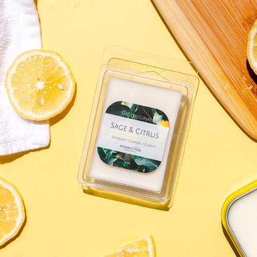 Sage & Citrus Massage Melts (4oz)
