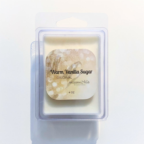 Warm Vanilla Sugar Massage Melts (4oz)