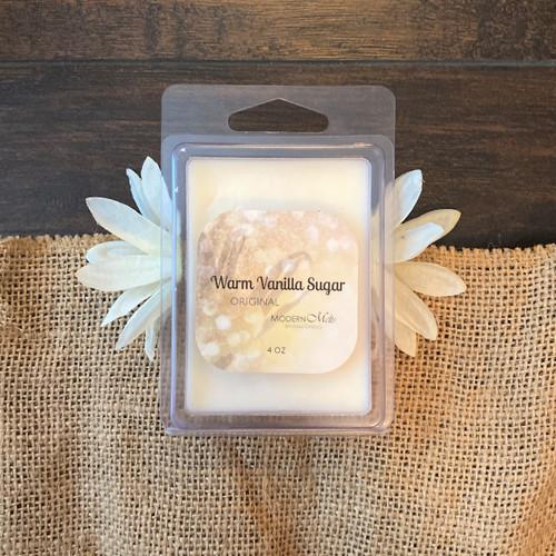 Warm Vanilla Sugar Massage Melts (4oz)