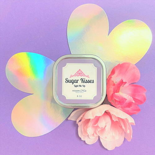 Sugar Kisses Massage Candle (8oz)