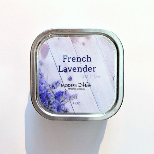 French Lavender Massage Candle (4oz)