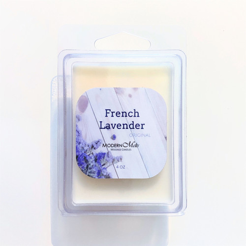 French Lavender Massage Melts (4oz)