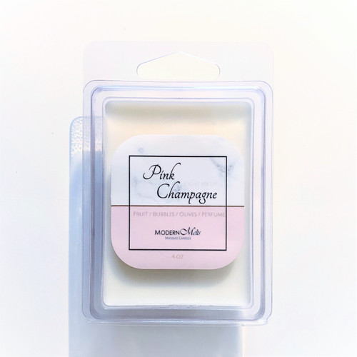 Pink Champagne Massage Melts (4oz)