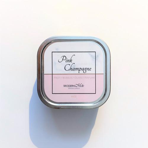 Pink Champagne Massage Candle (4oz)
