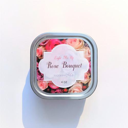 Rose Bouquet Massage Candle (4oz)
