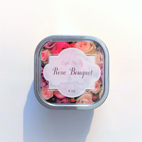 Rose Bouquet Massage Candle (8oz)