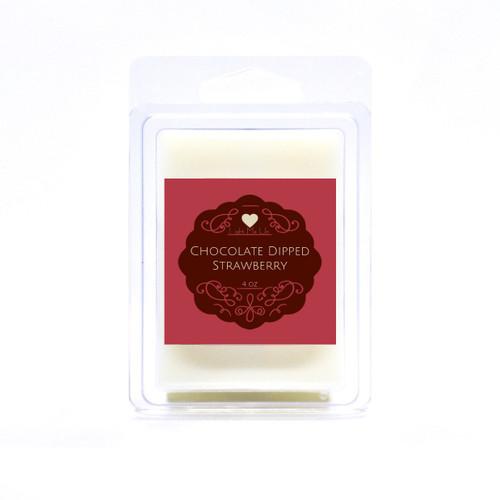 Chocolate Dipped Strawberry Massage Melts (4oz)