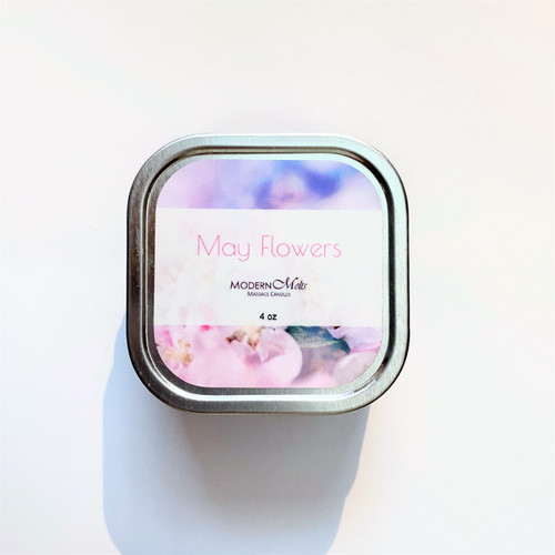 May Flowers Massage Candle (4oz)