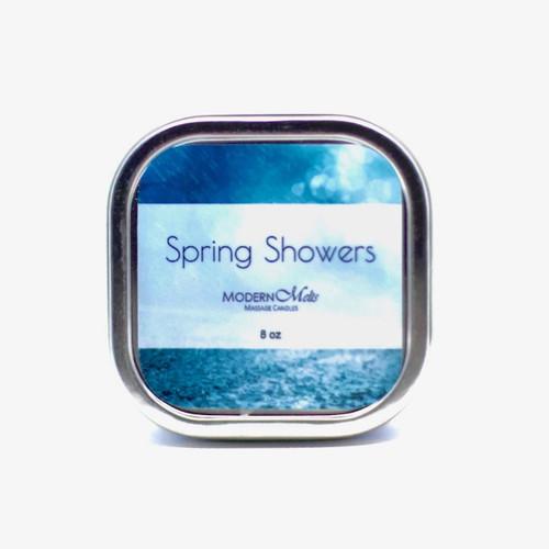 Spring Showers Massage Candle (8oz)