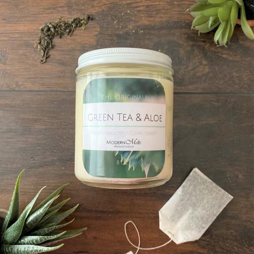 Green Tea & Aloe Luxe (8oz)