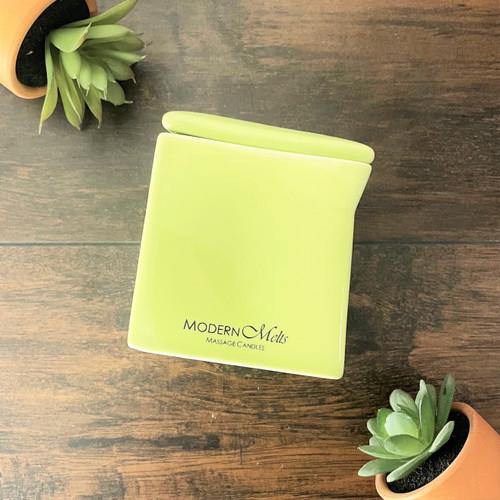Green Tea & Aloe SIGNATURE Massage Candle (10oz)