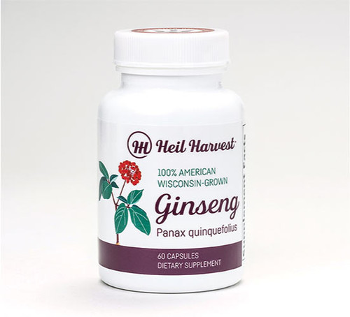 100% Wisconsin Ginseng Capsules