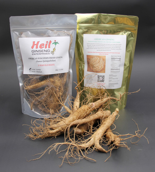 *Seasonal* LARGE Fresh Ginseng (5 year old) - (8oz Bag)