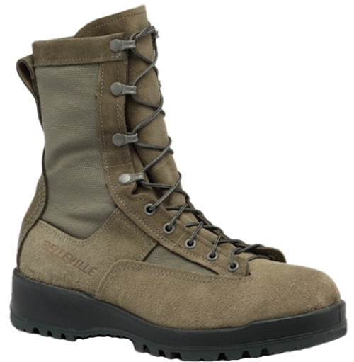 Belleville Mens 200g Insulated Waterproof Flight Boot Tan 695