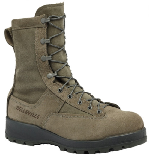 Belleville Mens 600g Insulated Waterproof Flight Boot Tan 675