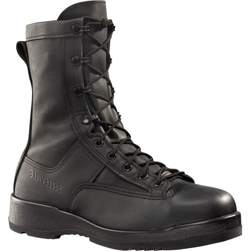 800 ST Belleville Men's Flight/Flight Deck Safety Boots - Black