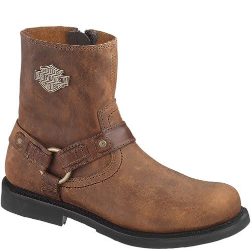 95263 Harley Davidson Men's Scout Motorcycle Boots - Brown