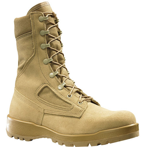 340DES Belleville Men's Flight & Combat Uniform Boots - Tan