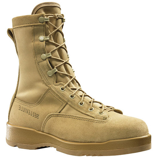 330DESST Belleville Men's Hot Weather Flight Safety Boots - Tan