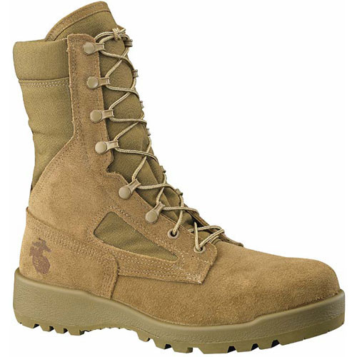 550 ST Belleville Men's Hot Weather Safety Boots - Olive Green