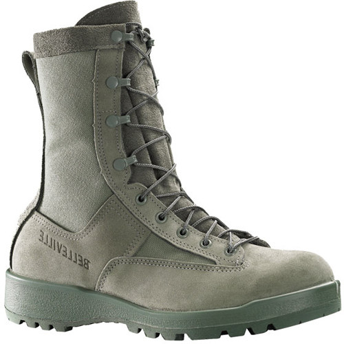 690 Belleville Men's Waterproof Flight Boots - Sage Green